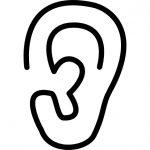 fül ikon